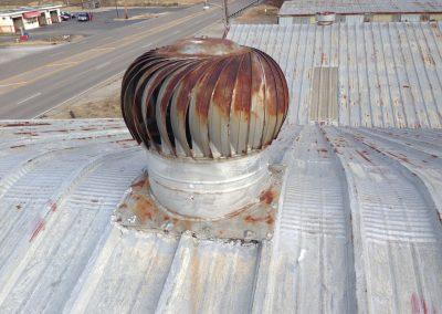 Repair – Metal Roof Flashing